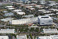 aerial photograph Samsung Semiconductor Silicon Valley Headquarters, San Jose, Santa Clara County, California