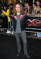 Andrew Watt at the Los Angeles premiere for &quot;XXX: Return of Xander Cage&quot; at the TCL Chinese Theatre, Hollywood. Los Angeles, USA 19th January  2017<br /> Picture: Paul Smith/Featureflash/SilverHub 0208 004 5359 sales@silverhubmedia.com