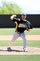 Mike Hart, Oakland Athletics 2010 minor league spring training..Photo by:  Bill Mitchell/Four Seam Images.
