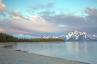 Jackson Lake Sunrise, Grand Teton National Park<br />