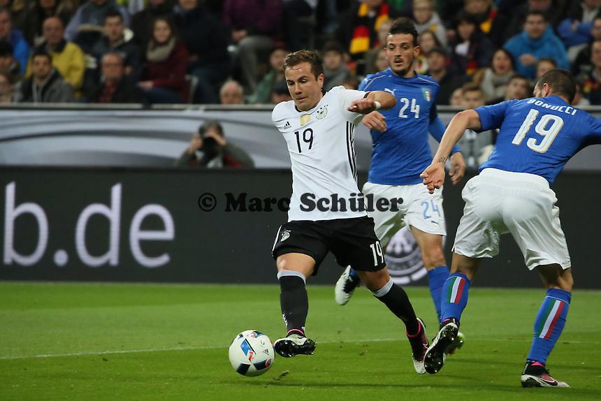 Mario Götze (D) setzt sich durch - Deutschland vs. Italien, Allianz Arena München