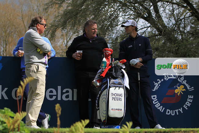Thomas Pieters (BEL) at  the 17th tee during Wednesday's Pro-Am round of the Dubai Duty Free Irish Open presented  by the Rory Foundation at The K Club, Straffan, Co. Kildare<br /> Picture: Golffile | Thos Caffrey<br /> <br /> All photo usage must carry mandatory copyright credit <br /> (&copy; Golffile | Thos Caffrey)
