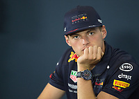 MAX VERSTAPPEN (NED) of Aston Martin Red Bull Racing TAG Heuer during The Formula 1 2018 Rolex British Grand Prix at Silverstone Circuit, Northampton, England on 8 July 2018. Photo by Vince  Mignott.