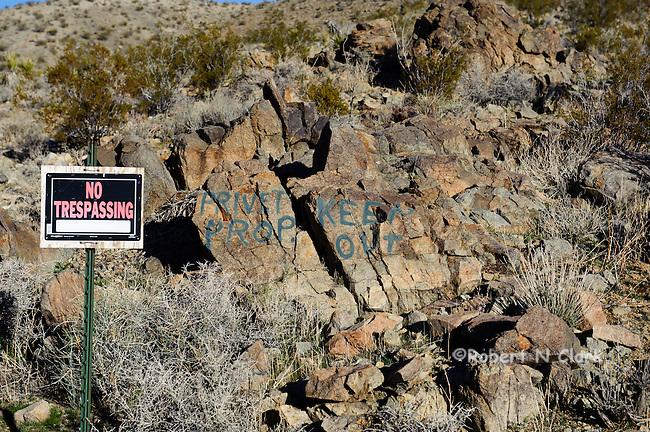 Mojave Desert near Barstow, prime Chukar habitat