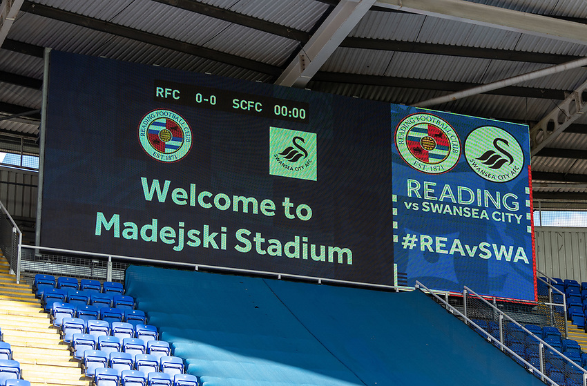 Madejski Stadium - Reading - Ground view<br /> <br /> Photographer David Horton/CameraSport<br /> <br /> The EFL Sky Bet Championship - Reading v Swansea City - Wednesday July 22nd 2020 - Madejski Stadium - Reading <br /> <br /> World Copyright © 2020 CameraSport. All rights reserved. 43 Linden Ave. Countesthorpe. Leicester. England. LE8 5PG - Tel: +44 (0) 116 277 4147 - admin@camerasport.com - www.camerasport.com