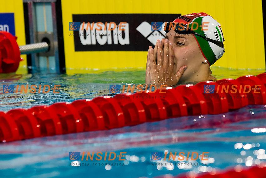 Kesely Ajna HUN<br /> 400 Freestyle Women Final Gold Medal<br /> LEN 43rd Arena European Junior Swimming Championships<br /> Hodmezovasarhely, Hungary <br /> Day02 07-07-2016<br /> Photo Andrea Masini/Deepbluemedia/Insidefoto