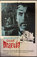 BNPS.co.uk (01202 558833)<br /> Pic: Cottees/BNPS<br /> <br /> Bram Stoker's Count Dracula 1970 film poster, starring Christopher Lee.<br /> <br /> A horror fan has sold his chilling collection of cult movie posters - for a shocking &pound;25,000.<br /> <br /> The unnamed film buff collected over 100 posters that advertised scary movies like Dracula, Frankenstein, The Wicker Man and the Hammer Horror franchise.<br /> <br /> He has now sold them at Cottees Auctions of Wareham, Dorset, with one rare Dracula poster fetching over &pound;5,000 alone.