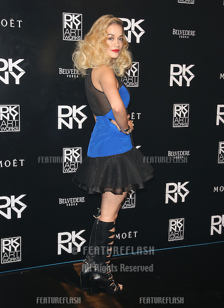 Rita Ora at the DKNY Artworks Launch, held at the fire station, London. 12/06/2013 Picture by: Henry Harris / Featureflash