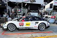 #911 PORSCHE NORTH AMERICA (USA) PORSCHE 911 RSR GTLM NICK TANDY (GBR) PATRICK PILET (FRA) KEVIN ESTRE (FRA)