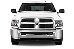 Straight front view of a 2013 Ram Ram 2500 SLT Crew Cab