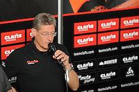 SCHAATSEN: HEERENVEEN: 21-10-2016, Perspresentatie Team Clafis, trainer coach Jillert Anema, ©foto Martin de Jong