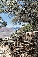 Rim Trail, Grand Canyon, South Rim, Arizona.