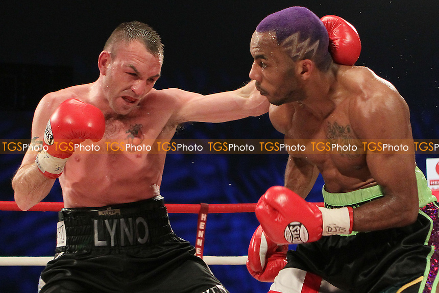 Colin Lynes vs Junior Witter in a boxing contest at the Hillsborough Leisure Centre, Sheffield, promoted by Hennessy Sports - 12/05/12 - MANDATORY CREDIT: Chris Royle/TGSPHOTO - Self billing applies where appropriate - 0845 094 6026 - contact@tgsphoto.co.uk - NO UNPAID USE..