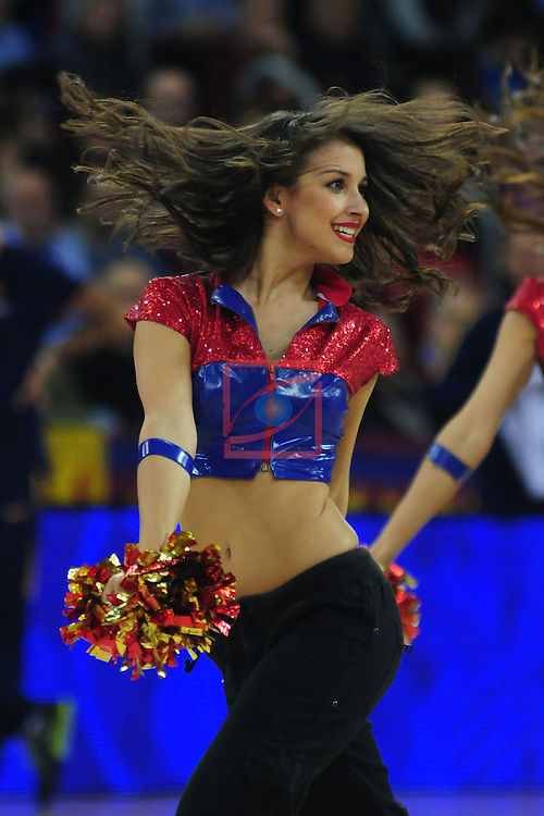 Turkish Airlines Euroleague 2015/2016.<br /> Top 16 - Round: 2.<br /> FC Barcelona Lassa vs Khimki Moscow Region: 87-70.<br /> Dream Cheers.