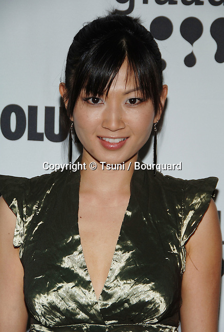Michelle Krusiec arriving at the GLAAD Awards at the Kodak Theatre in Los Angeles. April 8 2006.