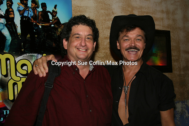 Randy Jones Book Release party - ..Hayne Suthon & Randy Jones invite you to a WILD WEST SHOWDOWN between Macho Man and The Lovely Ladettes of Lucky Cheng's Celebrating Macho Man: The Disco Era and the Coming Out of Gay America, the book by Randy Jones and Mark Bego...Randy Jones and the Ladies of Lucky Chengs as the Village People perform YMCA - June 25 at MARFA Restaurant NYC, NY. (Photos by Sue Coflin/Max Photos)