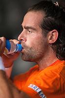 15-9-09, Netherlands,  Maastricht, Tennis, Daviscup Netherlands-France, Training, Raemon Sluiter