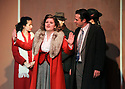 """CSTOCK is presenting the musical  """"White Christmas"""" Dec 2-18 at their Silverdale theater. This production  adaptation features seventeen Irving Berlin songs. Actors Emileigh Kershaw and Eric Richardson perform a scene Monday during rehearsal. Brad Camp 