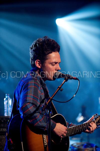 Concert of the Belgian rock band Broken Glass Heroes in the Amerikaans Theater, Brussels (Belgium, 23/11/2011)
