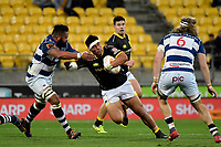 Wellington&rsquo;s Xavier Numia in action during the Mitre 10 Cup - Wellington v Auckland at Westpac Stadium, Wellington, New Zealand on Thursday 4 October 2018. <br /> Photo by Masanori Udagawa. <br /> www.photowellington.photoshelter.com