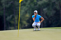 Sierra Brooks (USA) during the final  round at the Augusta National Womans Amateur 2019, Augusta National, Augusta, Georgia, USA. 06/04/2019.<br /> Picture Fran Caffrey / Golffile.ie<br /> <br /> All photo usage must carry mandatory copyright credit (© Golffile | Fran Caffrey)