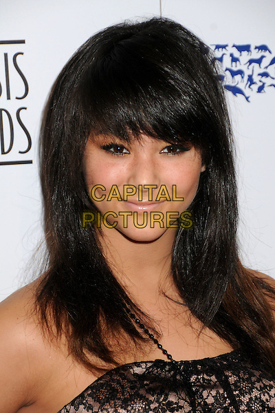 FIVEL STEWART .24th Annual Genesis Awards - Arrivals held at the Beverly Hilton Hotel, Beverly Hills, California, USA, 20th March 2010..portrait headshot black fringe lace strapless .CAP/ADM/BP.©Byron Purvis/AdMedia/Capital Pictures.