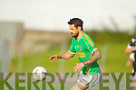 Paul Galvin Finuge in action against  Ardfert in the Club Championship Intermediate Semi Fanal at Austin Stack Park on Saturday.