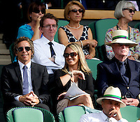 Ben Stiller & Sir Michael Caine watching Andy Murray (GBR) (4) against Jo-Wilfred Tsonga (FRA) (10) in the Quarter Finals of the gentlemen's singles. Andy Murray beat Jo-Wilfred Tsonga 6-7 7-6 6-2 6-2..Tennis - Wimbledon Lawn Tennis Championships - Day 9 Wed 30 Jun 2010 -  All England Lawn Tennis and Croquet Club - Wimbledon - London - England..© FREY - AMN IMAGES  Level 1, Barry House, 20-22 Worple Road, London, SW19 4DH.TEL - +44 (0) 20 8947 0100.Email - mfrey@advantagemedianet.com.www.advantagemedianet.com