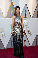 Sandra Bullock arrives on the red carpet of The 90th Oscars&reg; at the Dolby&reg; Theatre in Hollywood, CA on Sunday, March 4, 2018.<br /> *Editorial Use Only*<br /> CAP/PLF/AMPAS<br /> Supplied by Capital Pictures