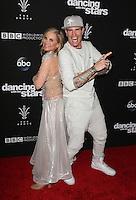 """Los Angeles, CA - NOVEMBER 22: Maureen McCormick, Vanilla Ice, At ABC's """"Dancing With The Stars"""" Season 23 Finale At The Grove, California on November 22, 2016. Credit: Faye Sadou/MediaPunch"""