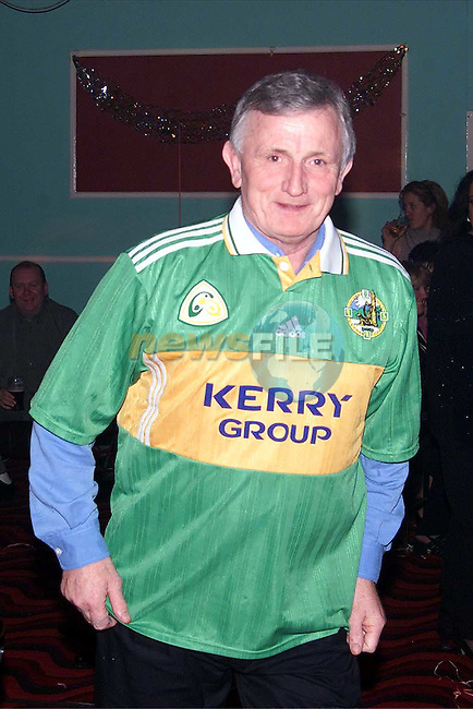 Jim Doyle at the Bissell farewell party in the O'Raghallaigh's..Picture: Paul Mohan/Newsfile