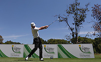 Craig Lee (SCO) on the 4th tee during the practice day ahead of the Tshwane Open 2015 at the Pretoria Country Club, Waterkloof, Pretoria, South Africa. Picture:  David Lloyd / www.golffile.ie. 10/03/2015