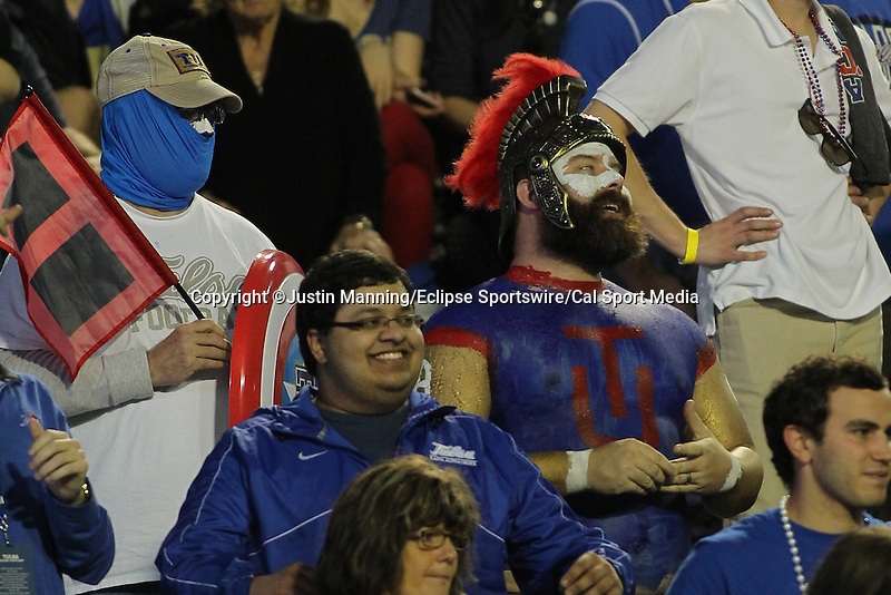 December 26, 2015: Tulsa fans during the Camping World Independence Bowl at Independence Stadium in Shreveport, LA. Justin Manning/ESW/CSM