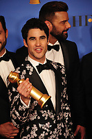 LOS ANGELES, CA. January 06, 2019: Darren Criss at the 2019 Golden Globe Awards at the Beverly Hilton Hotel.<br /> Picture: Paul Smith/Featureflash