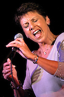 Jazz Vocalist Janice Borla performing at North Central College in Naperville, IL