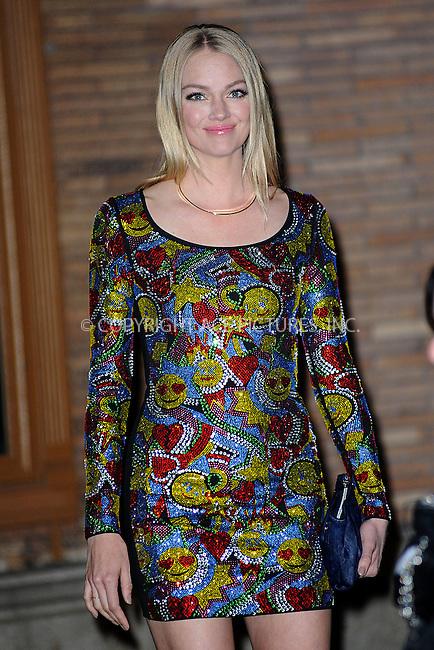 WWW.ACEPIXS.COM<br /> November 9, 2015 New York City<br /> <br /> Lindsay Ellingson  is seen outside Carnegie Hall on November 9, 2015 in New York City.<br /> <br /> Credit: Kristin Callahan/ACE<br /> <br /> Tel: (646) 769 0430<br /> e-mail: info@acepixs.com<br /> web: http://www.acepixs.com