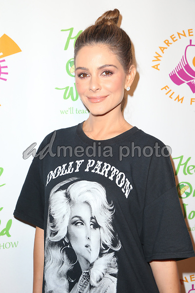 "05 October 2017 - Los Angeles, California - Maria Menounos. ""The Road To Yulin And Beyond"" Los Angeles Premiere. Photo Credit: F. Sadou/AdMedia"