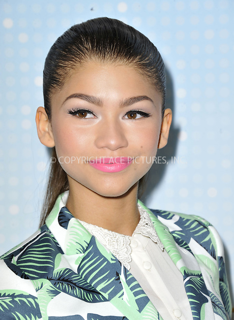 WWW.ACEPIXS.COM....April 27 2013, LA....Zendaya Coleman arriving at the 2013 Radio Disney Music Awards at the Nokia Theatre L.A. Live on April 27, 2013 in Los Angeles, California...........By Line: Peter West/ACE Pictures......ACE Pictures, Inc...tel: 646 769 0430..Email: info@acepixs.com..www.acepixs.com