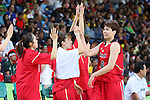 Ramu Tokashiki (JPN), <br /> AUGUST 16, 2016 - Basketball : <br /> Women's Quarter-final <br /> between USA Women's  110-64 Japan Women's <br /> at Youth Arena <br /> during the Rio 2016 Olympic Games in Rio de Janeiro, Brazil. <br /> (Photo by Yohei Osada/AFLO SPORT)