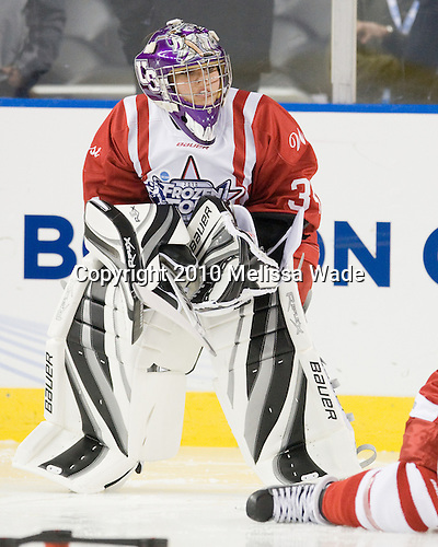"""Lauren Bradel (St. Thomas) - The final event of """"Friday Night at the Frozen Four"""" is the Skills Challenge for men's and women's senior hockey players from both D1 and D111."""