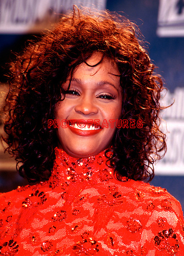 Whitney Houston 1993 Billboard Awards.© Chris Walter.