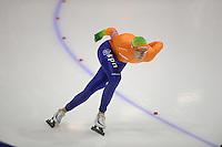 SCHAATSEN: HEERENVEEN: IJsstadion Thialf, 11-01-2013, Seizoen 2012-2013, Essent ISU EK allround, 5000m Men, Jan Blokhuijsen (NED), ©foto Martin de Jong