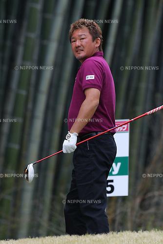 Mitsuhiro Tateyama, .APRIL 13, 2012 - Golf : 20th Japan Golf Tour Token Homemate Cup 2012, .2nd Round .at Token Tado Country Club Nagoya, Mie, Japan. (Photo by Akihiro Sugimoto/AFLO SPORT) [1080]