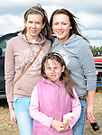 Vivienne Flemming, Aoife and Caoimhe Durnin from Ardee pictured at the Wee County Fair in Dunleer. Photo: www.pressphotos.ie
