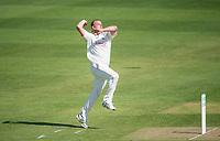 Picture by Allan McKenzie/SWpix.com - 20/04/2018 - Cricket - Specsavers County Championship - Yorkshire County Cricket Club v Nottinghamshire County Cricket Club - Emerald Headingley Stadium, Leeds, England - Nottinghamshire's Luke Fletcher bowls.