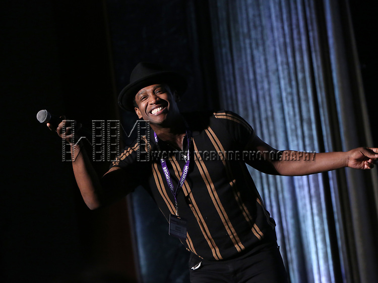 Jelani Remy during the BroadwayCON 2020 First Look at the New York Hilton Midtown Hotel on January 24, 2020 in New York City.