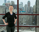 Kat Johnson is the director of the Institute of Global Homelessness (IGH) at DePaul University in Chicago. The Institute of Global Homelessness is a partnership between DePaul University and Depaul International. Their goal is to support the emerging global movement to end homelessness led from the ground, guided by actionable research and supported by effective policy.  (DePaul University/Jamie Moncrief)
