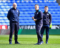 Wigan Manager Paul Cook left and Assistant Team Richardson inspect the pitch during Reading vs Wigan Athletic, Sky Bet EFL Championship Football at the Madejski Stadium on 9th March 2019