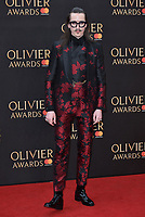 Joshua Kane<br /> The Olivier Awards 2018 , arrivals at The Royal Albert Hall, London, UK -on April 08, 2018.<br /> CAP/PL<br /> &copy;Phil Loftus/Capital Pictures