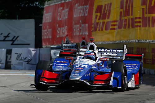 Verizon IndyCar Series<br /> Chevrolet Detroit Grand Prix Race 2<br /> Raceway at Belle Isle Park, Detroit, MI USA<br /> Sunday 4 June 2017<br /> Takuma Sato, Andretti Autosport Honda<br /> World Copyright: Phillip Abbott<br /> LAT Images<br /> ref: Digital Image abbott_detroit_0617_7705